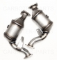 Preview: Audi S4/S5 3,0 TFSI OEM Performance Downpipes Katalysator Attrappe