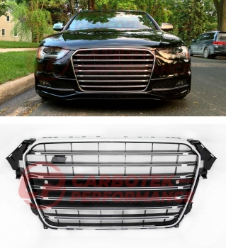 Audi A4 B8 8K 2012-2015 RS FL US Kühlergrill Chrome