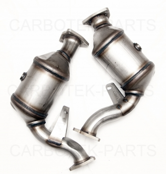 Audi S4/S5 3,0 TFSI OEM Performance Downpipes Katalysator Attrappe